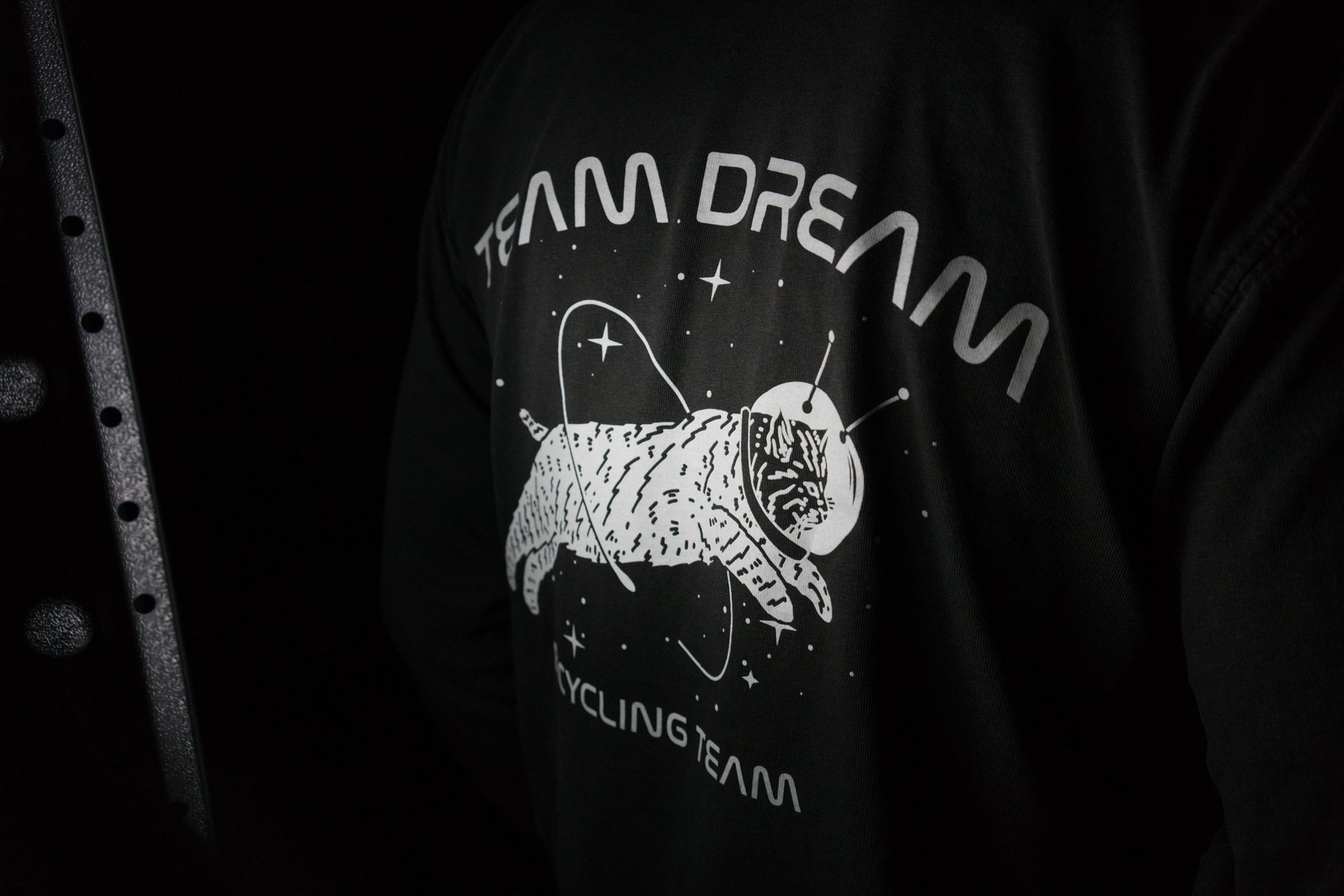 Space Cat Long Sleeve Heavyweight