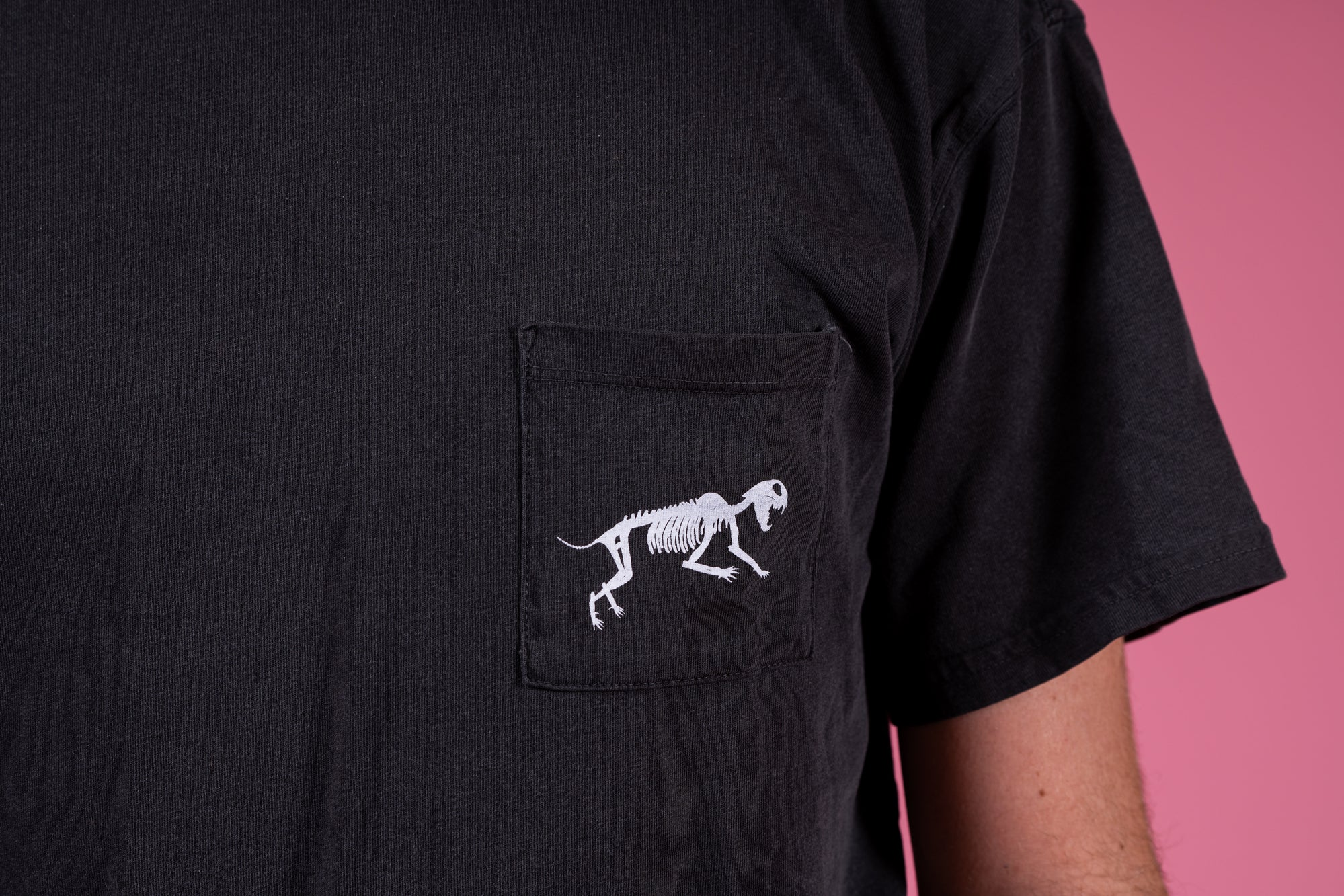 Kitty Bone Heavyweight Pocket T