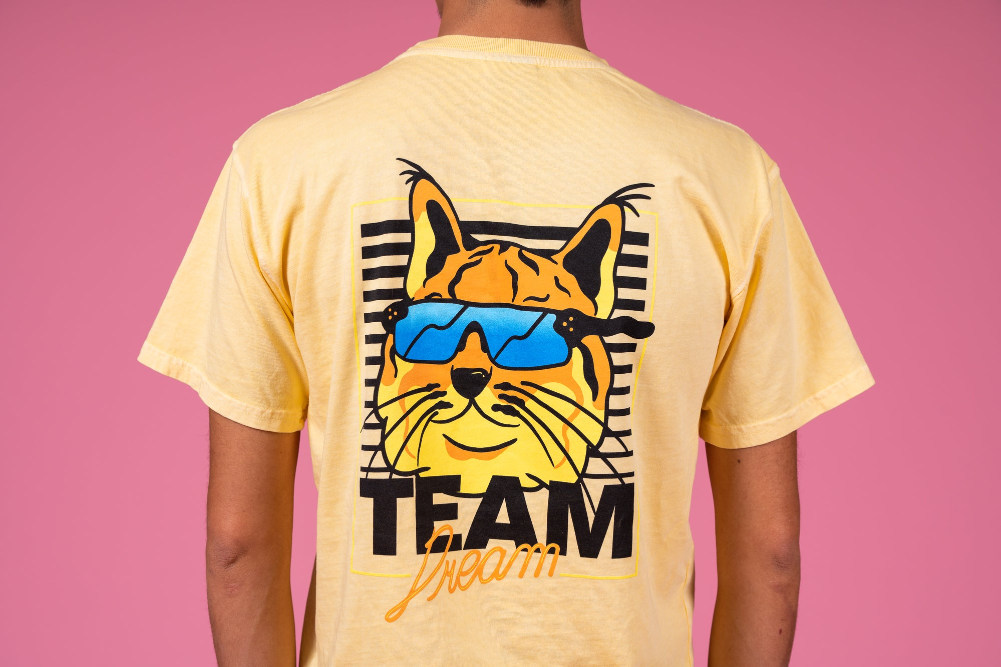 Cool CAT Heavyweight Pocket T