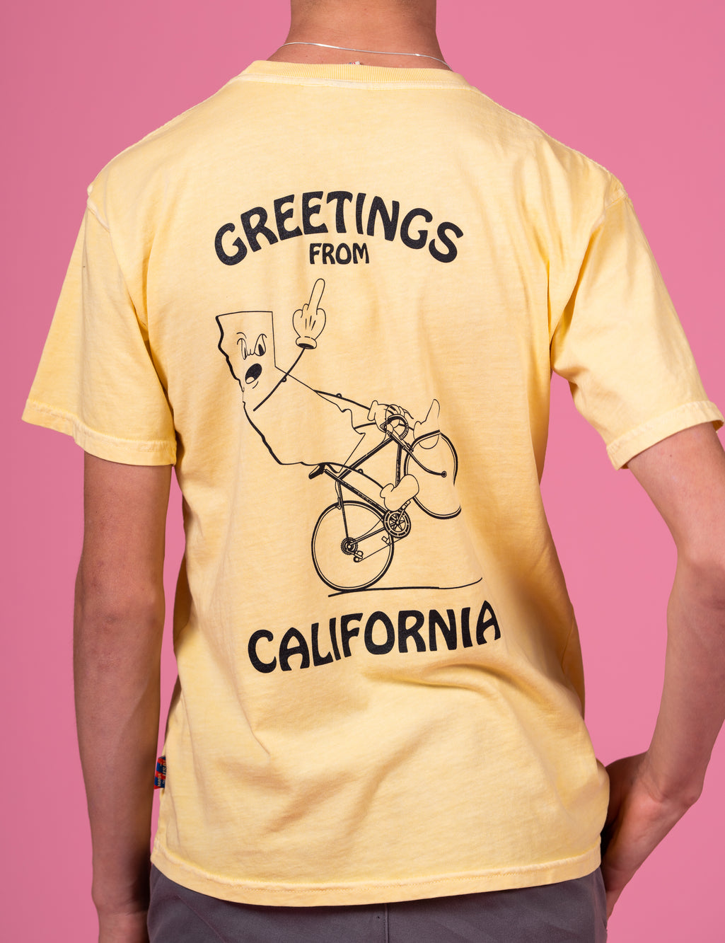 Greetings From Cali Heavyweight Pocket T's
