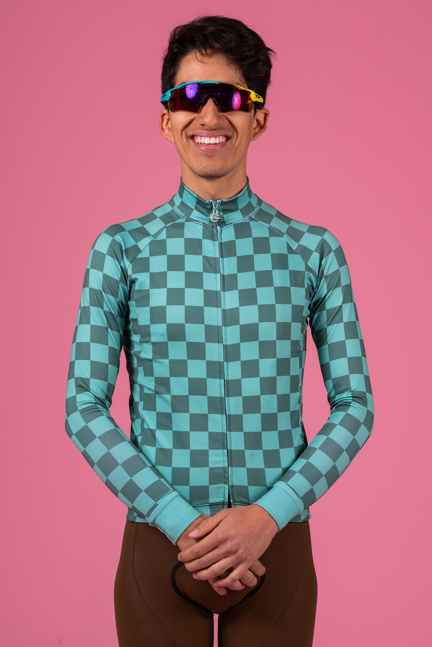 Check Long Sleeve Jersey Series