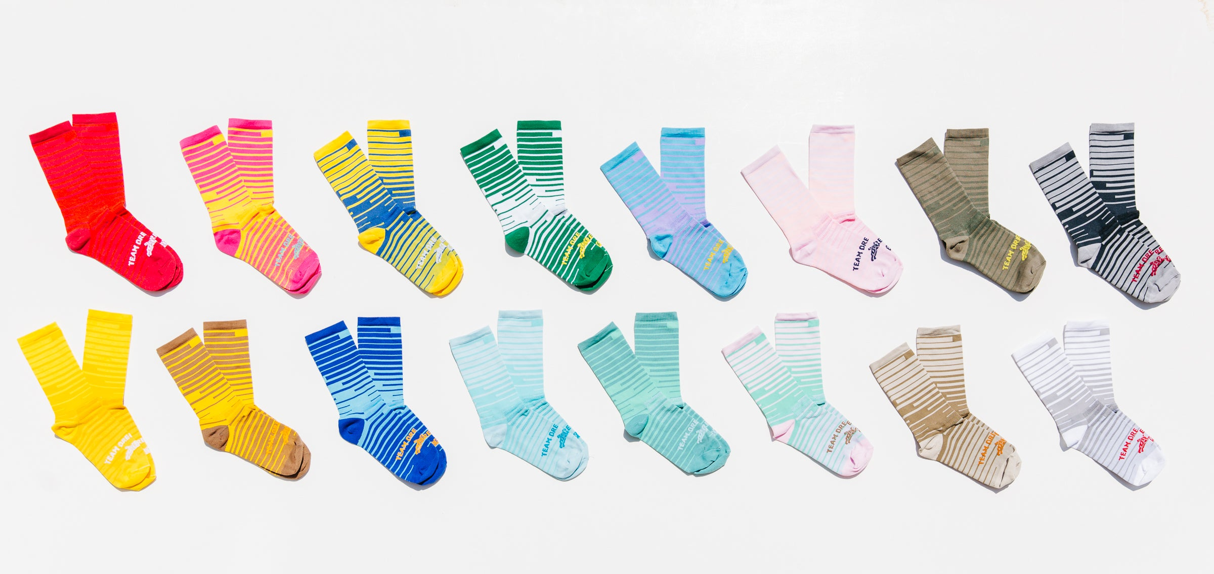 Space Bar Contrast Series Sock