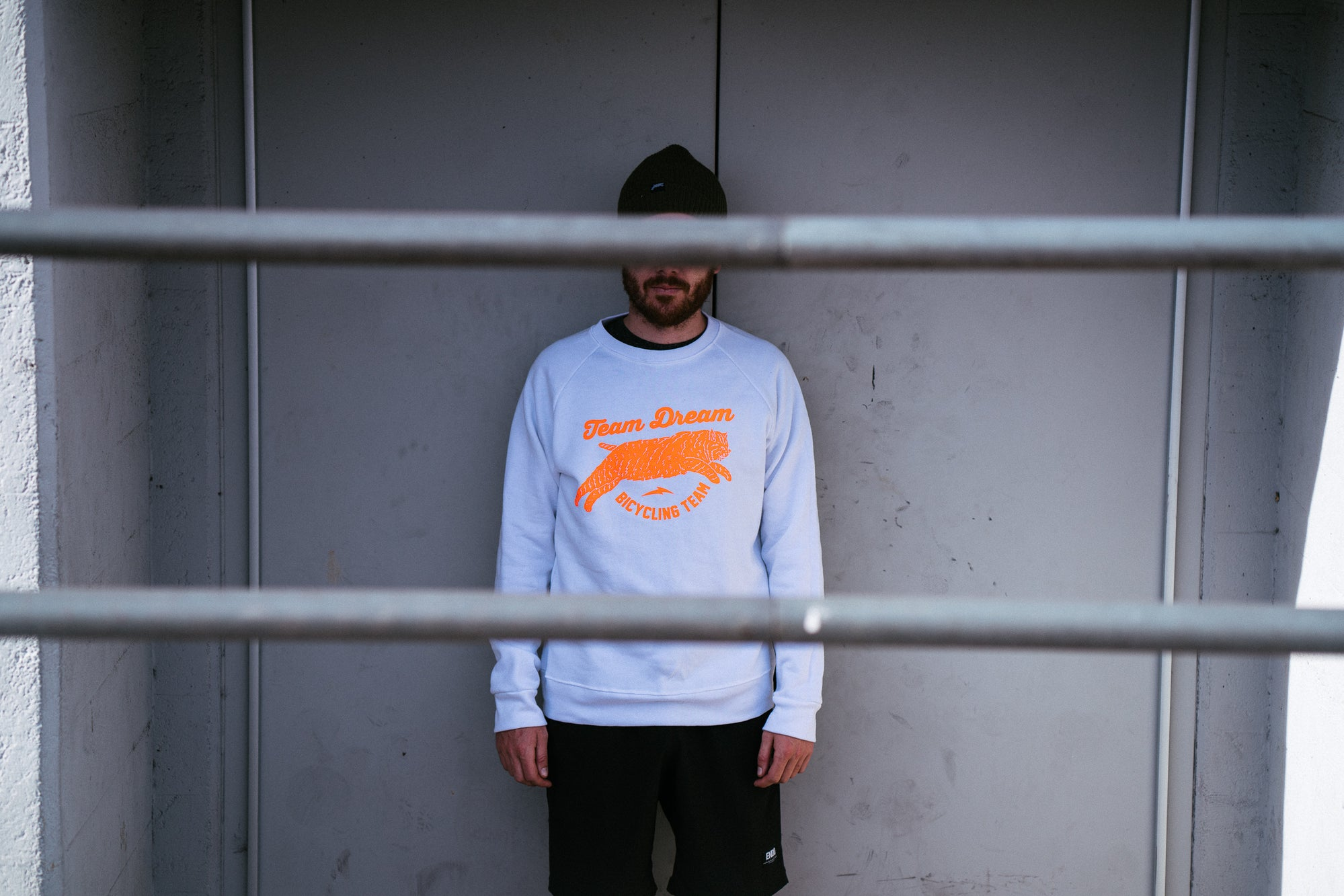 Crisp Winter White Chubby Bobcat Raglan