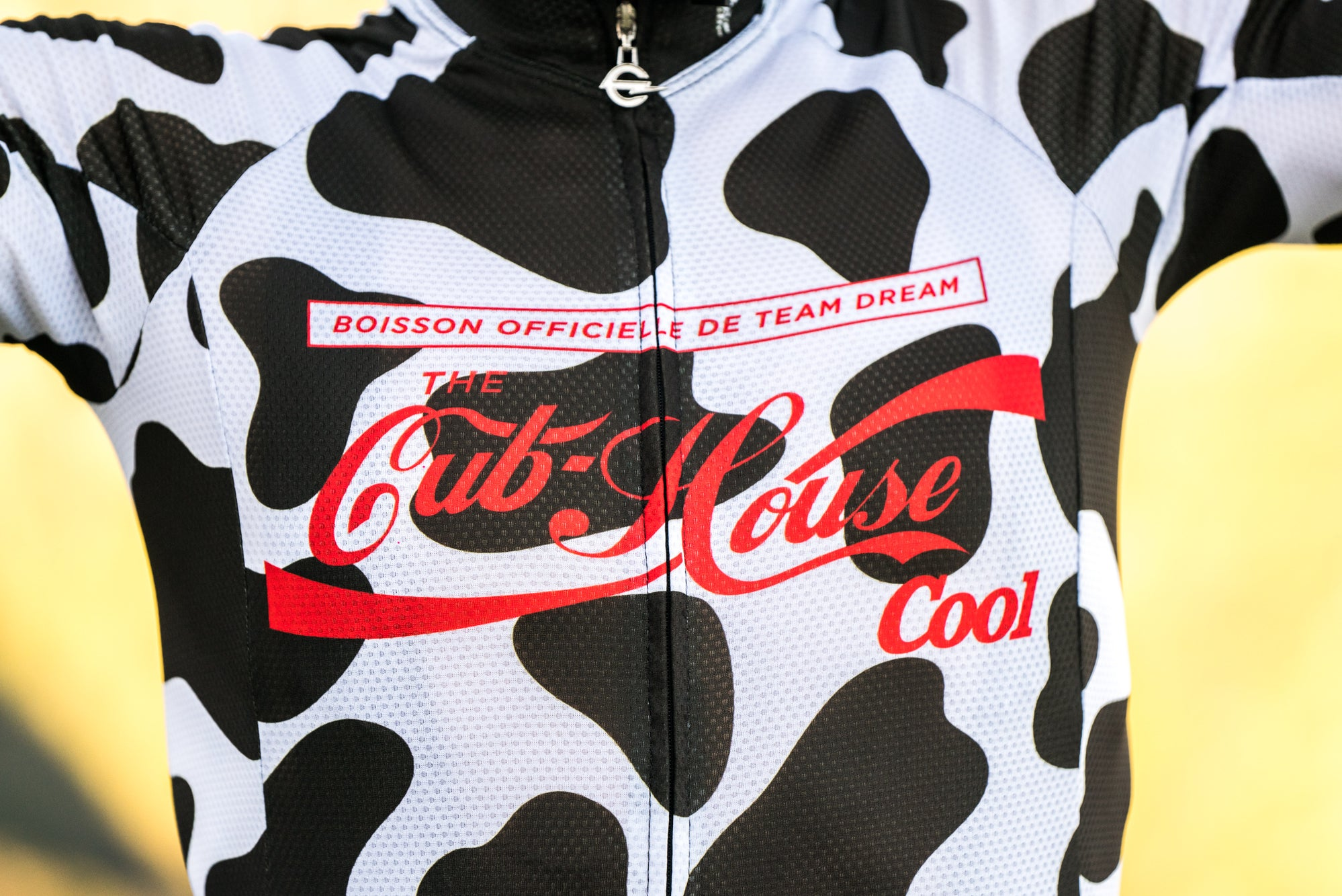Milk Chocolate Cow Staple Fit Jersey