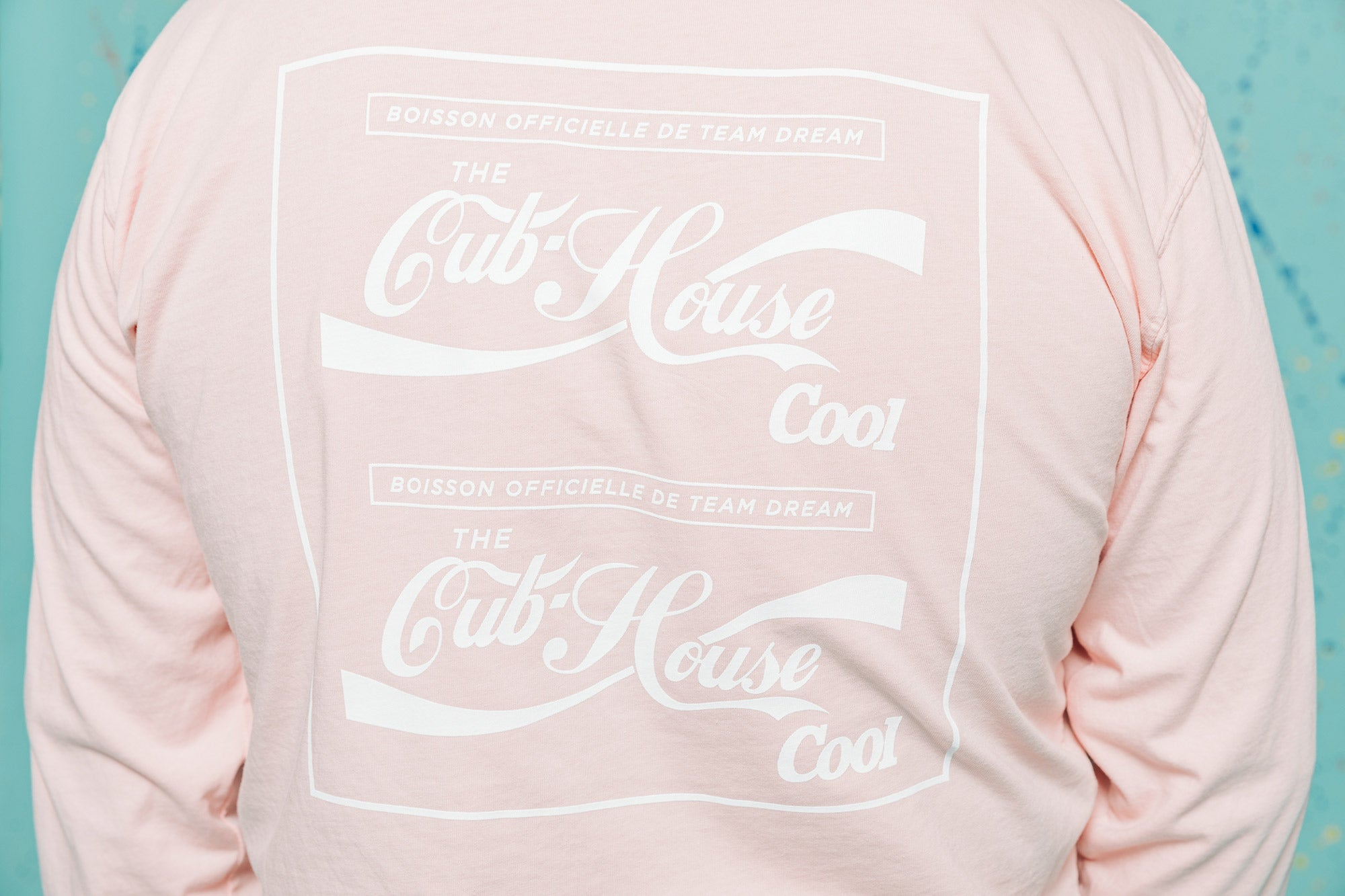 Pretty Pink Cub House Cool Heavyweight Long Sleeve
