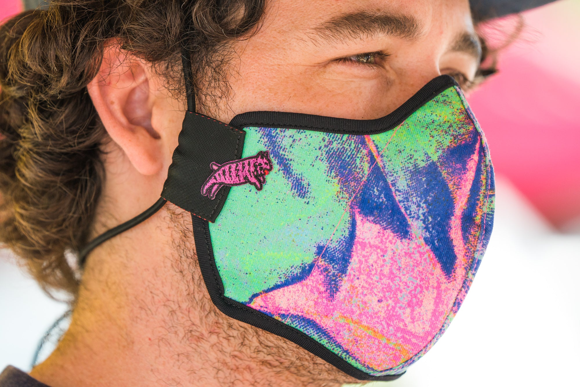 Team Dream x swrve Catnip Trip Face Mask