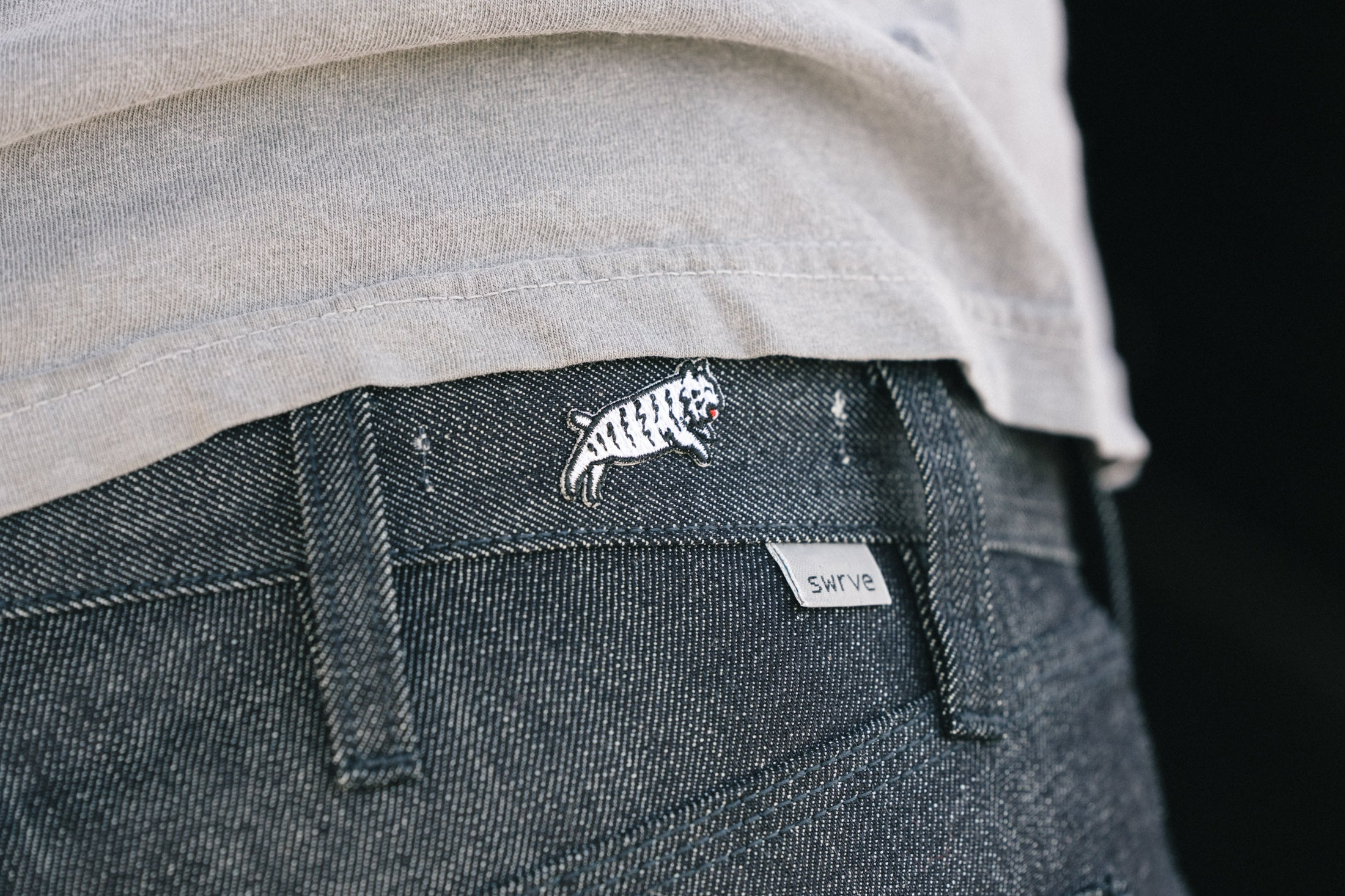 swrve SPLATTER Denim