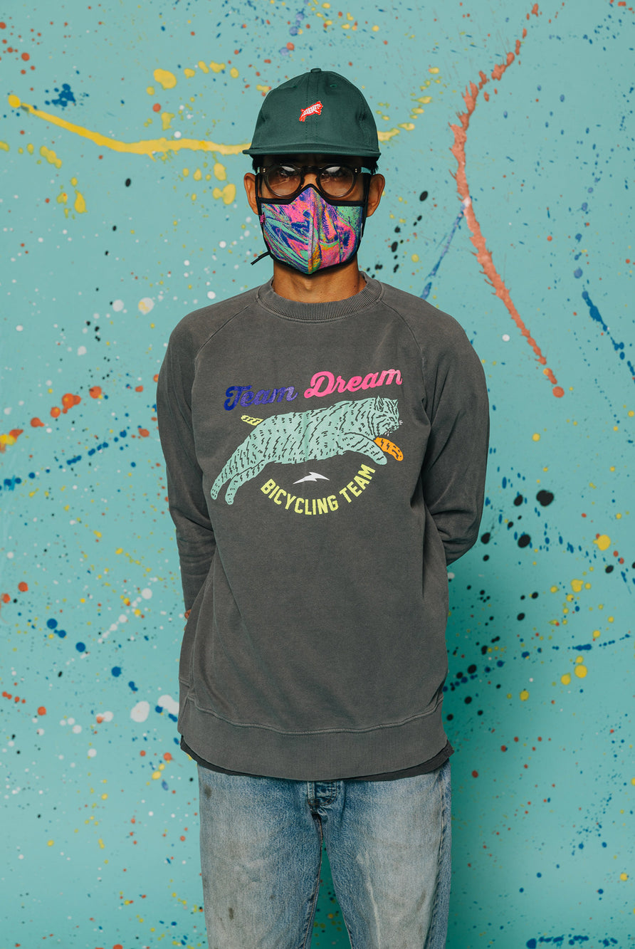 Harlequin Lightweight Raglan Slim Fit