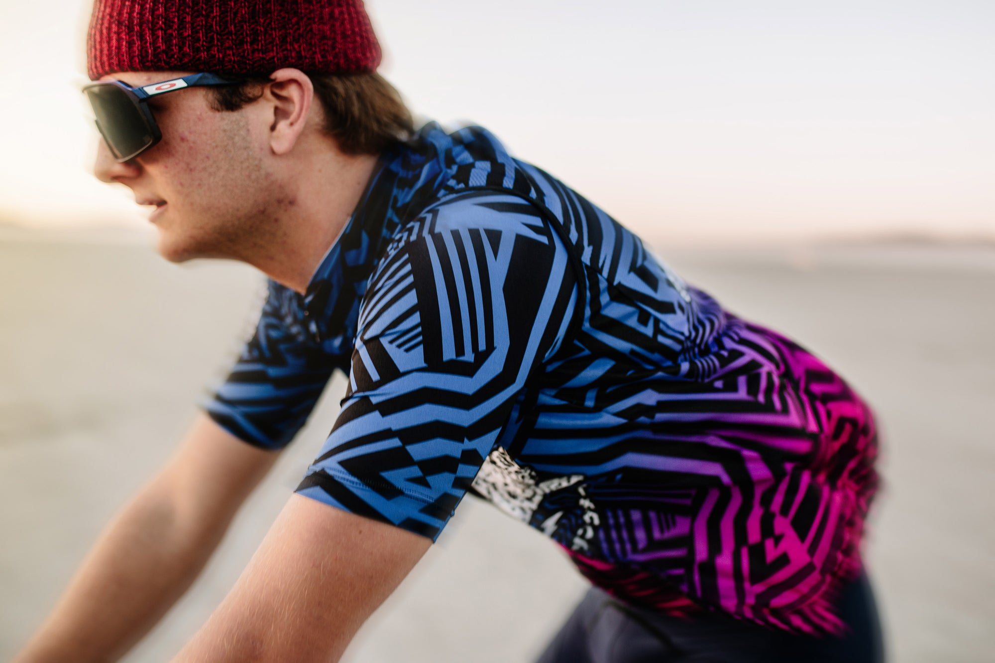 Rizzle Color Fade Short Sleeve FS Jersey