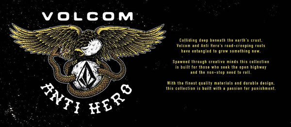 ¿Conoces la última noticia de Volcom y Anti Hero?