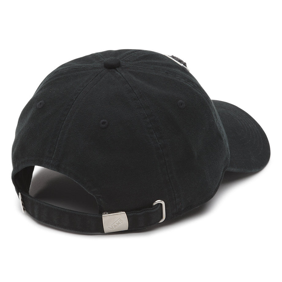 Gorra Vans Court Side Baseball Washed Black