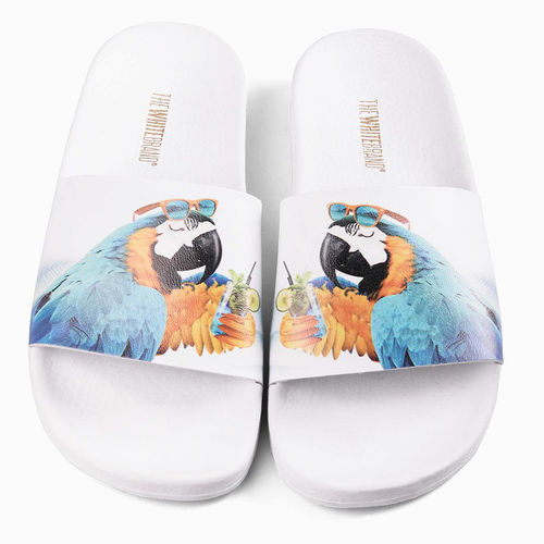 Chanclas The White Brand Parrot White