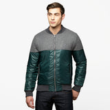 Chaqueta Lightning Bolt Melton Insulated Bomber Kombu Green