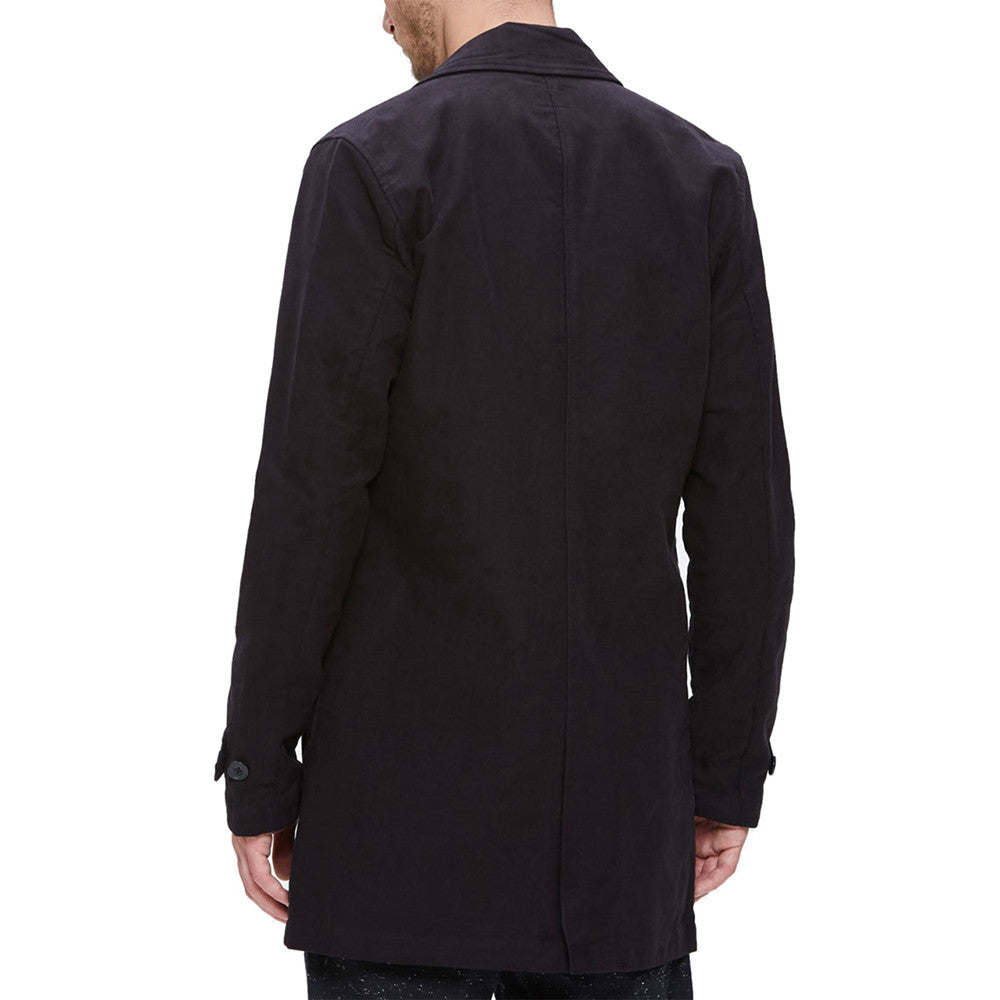 Vista trasera de la Chaqueta Obey Eighty Nine Limo Coat Black