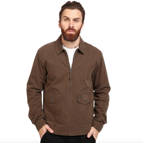 Chaqueta de punto Quiksilver Boketto Light Grey Heather