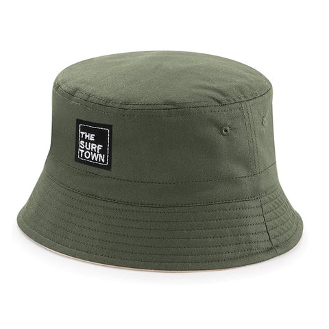Gorro Bucket The Surf Town Black Grey