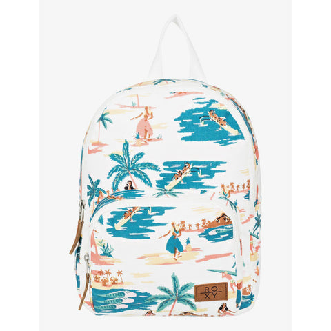 Mochila pequeña Roxy Always Core 8L Peach Blush Bright Skies