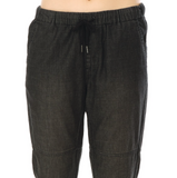 Pantalones Volcom Painterly Jogger Black