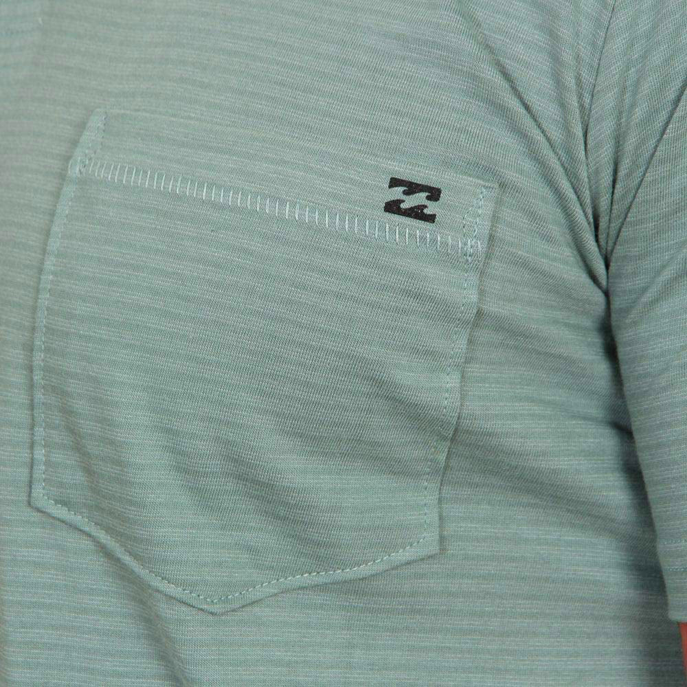 Polo Billabong Standard Issue Dust Green