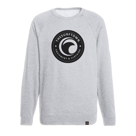 Camiseta The Surf Town Therapy Raglan Maroon Black