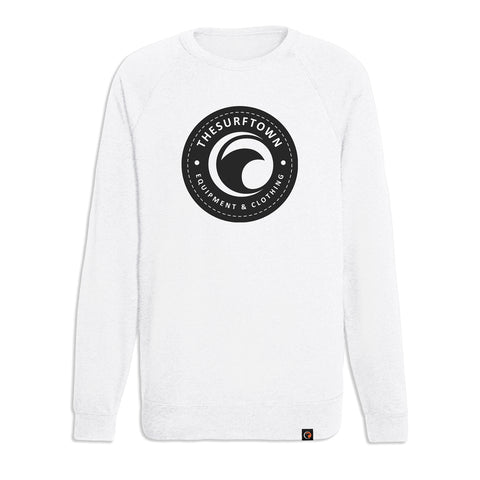 Sudadera The Surf Town Block Hoodie Off White W