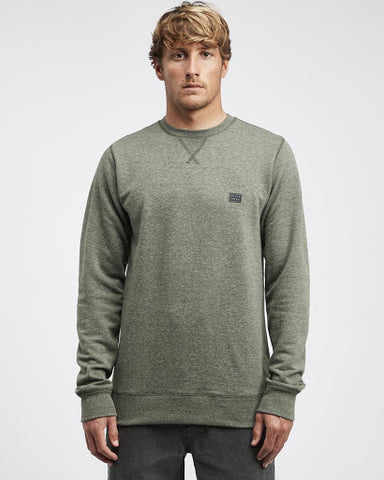 Sudadera Billabong Original Crew Grey Heather