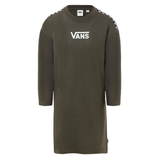 Vestido Vans Chrome II Grape Leaf verde militar envio gratis