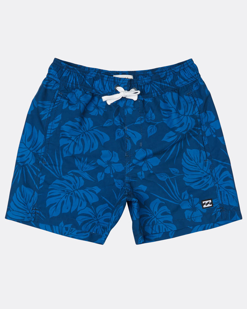 Bañador de niño Billabong All Day S Floral Navy