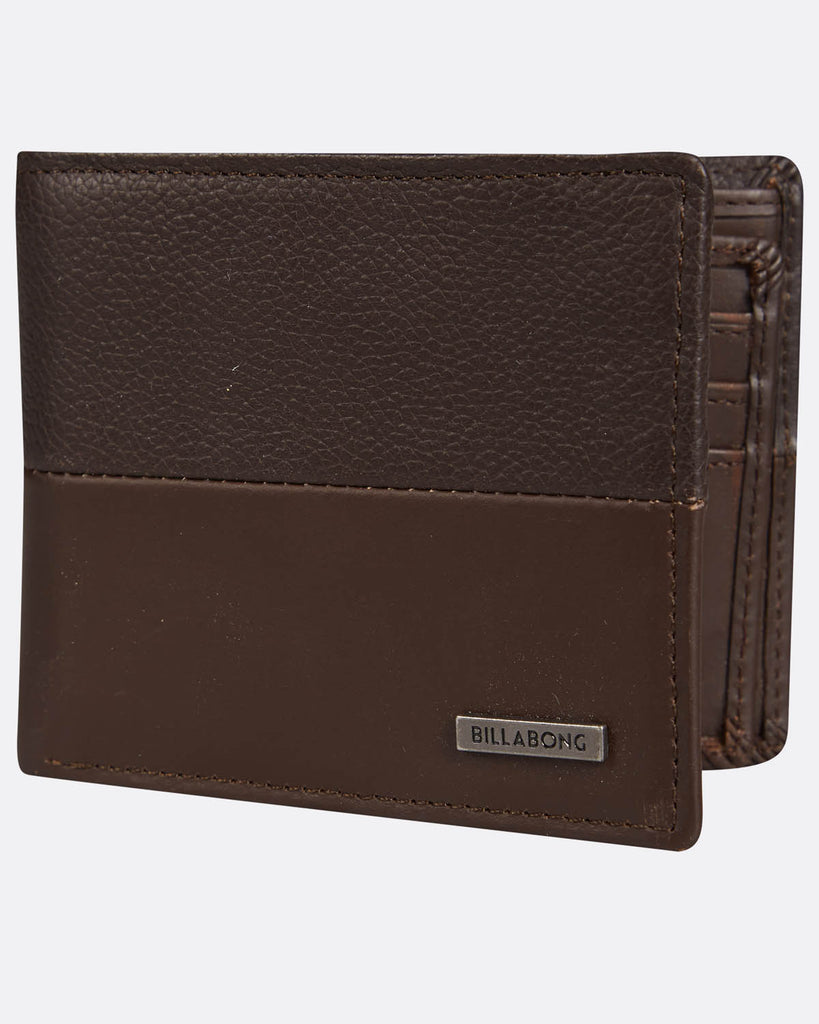 Cartera Billabong Fifty50 Chocolate