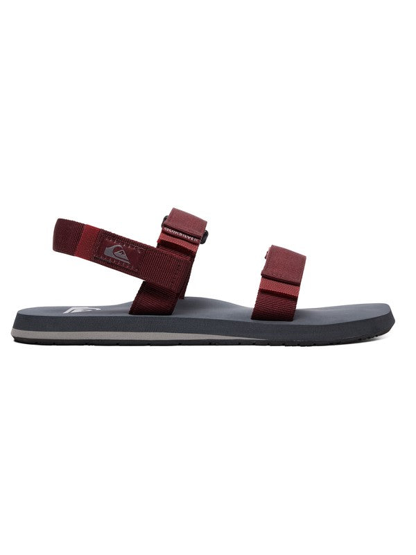 quiero comprar online las Chanclas Quiksilver Monkey Caged Red/Grey