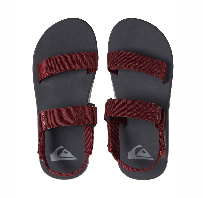 comprar Chanclas Quiksilver Monkey Caged Red/Grey