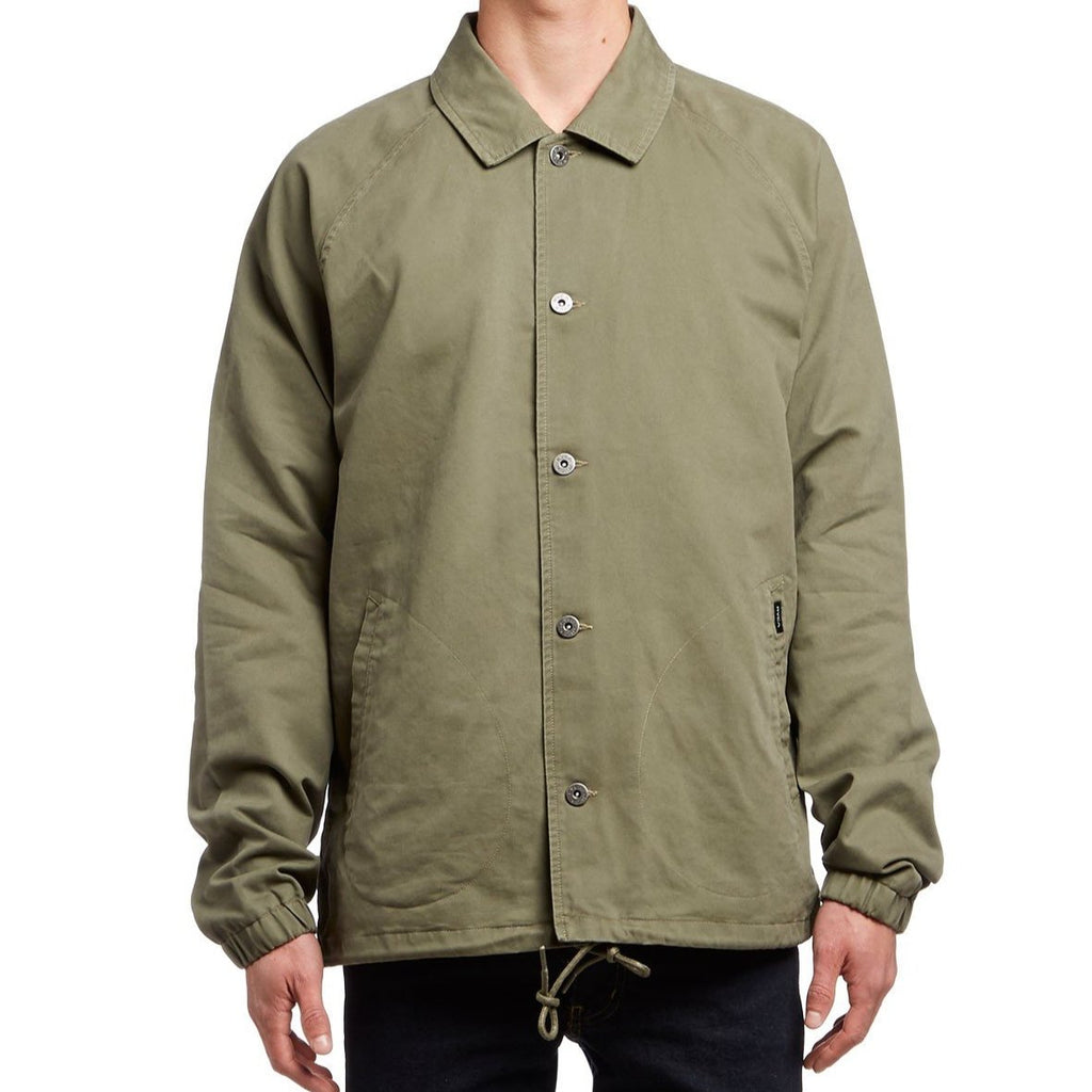 Chaqueta Rvca MVP Coach´s Jacket Green Leaf