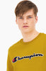 Sudadera Champion Script Logo Recycled Yellow
