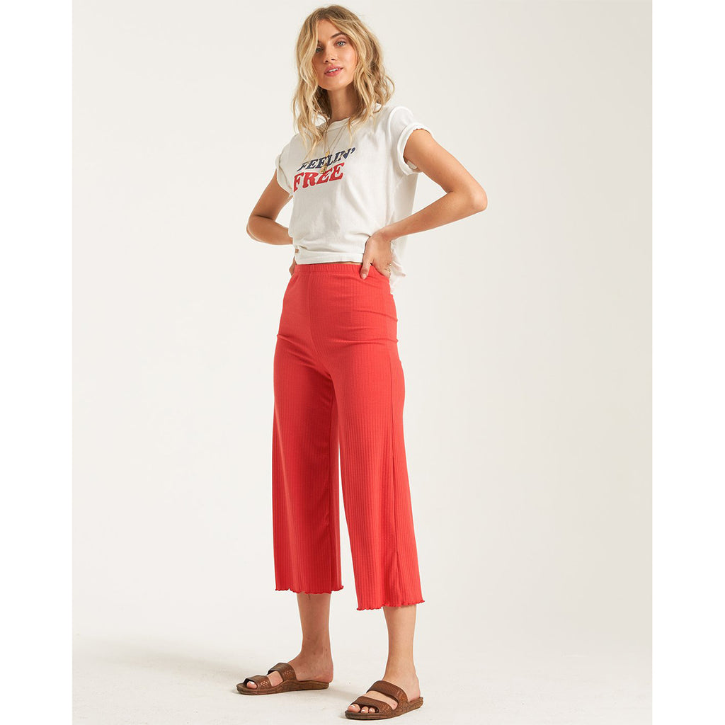 Pantalones Billabong Easy Waves Rad Red