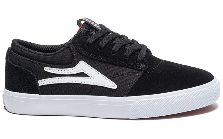 Zapatillas Lakai Griffin Kids Black Suede negras