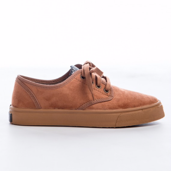 Zapatillas Wasted Clarita Brown/Gum marrones con suela caramelo envio gratis