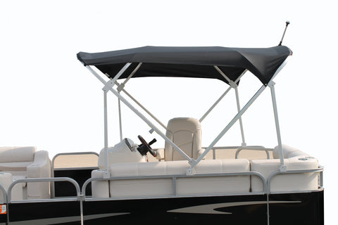 Deluxe 8x8 Pontoon Top Black