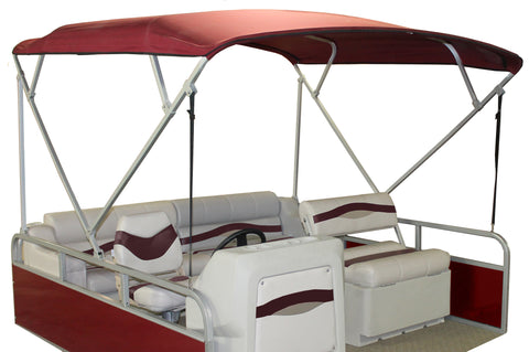 Burgundy Economy Pontoon Top