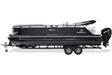 "PWR-ARM II Power Bimini Package 8' or 8'6"" wide, 10' long - PontoonBoatTops.com"