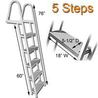 5 Step Traditional Dock or Pontoon Ladder