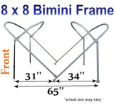8'x8' Pontoon Top Frame Only