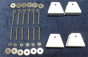 "Aluminum Mounting Hardware for 1"" Frames"