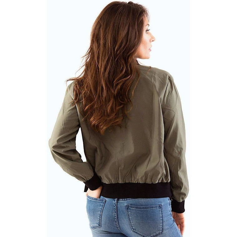 Patch Me Up Bomber Jacket-Women's Jackets & Coats-PRIVATE CARTEL