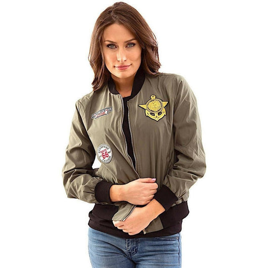 Patch Me Up Bomber Jacket-PRIVATE CARTEL