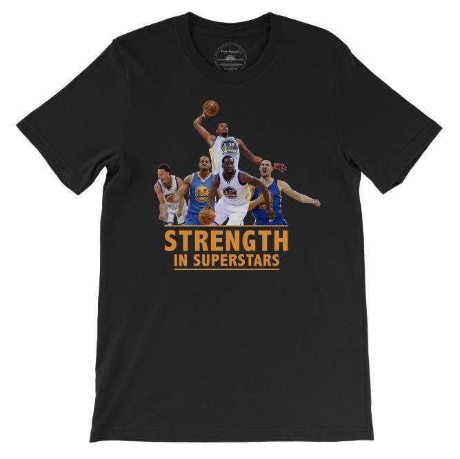 Warriors - Strength in Superstars Unisex T-Shirt-Tops-PRIVATE CARTEL