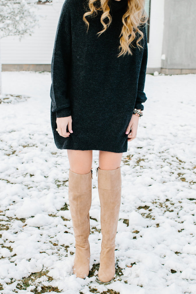 Lauren Heske - The Perfect Blend Blog - Kendry Collection Boutique Cute Sweater Dress
