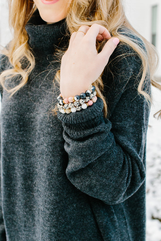 Lauren Heske - The Perfect Blend Blog - Kendry Collection Boutique Trendy Gemstone Bracelets