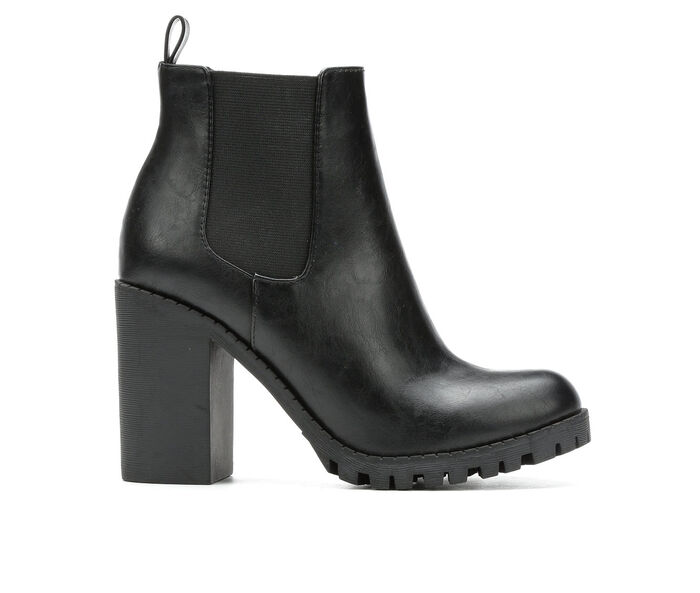 Black Glove Chelsea Booties