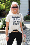 Blame It All On My Roots Graphic Tee - Kendry Collection Boutique