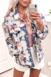 Bleached Pink Star Denim Jacket - Shop Kendry Collection Boutique